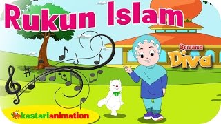 RUKUN ISLAM   Lagu Anak Indonesia  HD  Kastari Animation Official