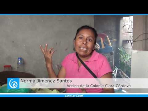 Habitantes de la colonia Clara Córdova piden pavimentación de la calle Libertad en Chalco