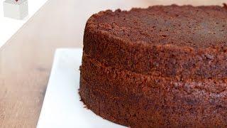 Bizcocho De Chocolate Sin Huevo | Azúcar Con Amor