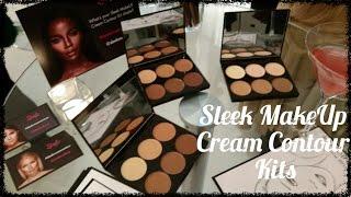 REVIEW: NEW Sleek MakeUp Cream Contour Kits with demo!
