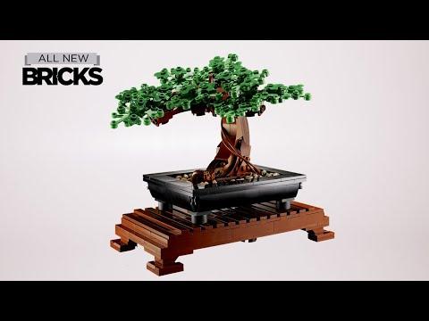Vidéo LEGO Creator 10281 : Bonsaï