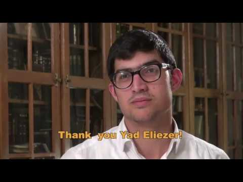 Yad Eliezer- Making an Impact!