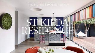 St Kilda Residence By Doherty Design Studio - Colour Through The Decades