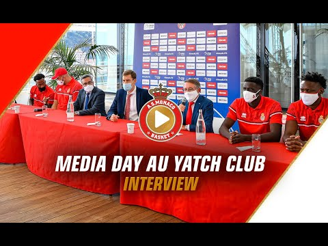 Media Day au Yatch Club