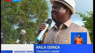 Raila Odinga forced to put up a passionate defence of his handshake with Uhuru Kenyatta