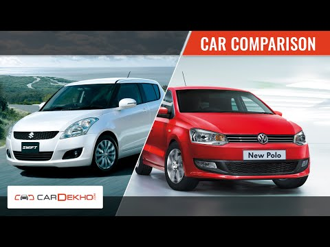 Volkswagen Polo vs Maruti Swift | Video Comparison | CarDekho.com
