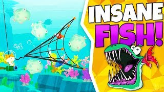 The Fishercat | LOOK at This FISH!! | Mobile Upgrade Fishing Game