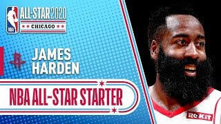 James Harden 2020 All-Star Starter   2019-20 NBA Season