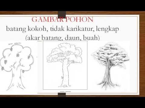 Tips Menggambar Pohon Psikotes Semburat Warna