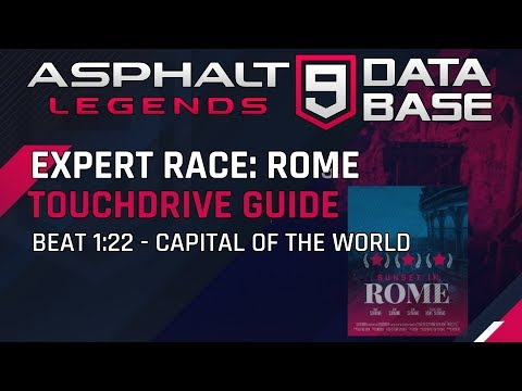 Expert Race Rome Capital of the World Tuesday – Touchdrive Guide