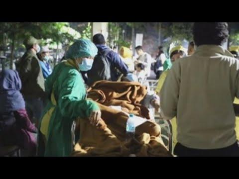 Se elevan a 82 los muertos por el seísmo de magnitud 7 en Indonesia