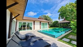 Bright & Open Two Bedroom Pool Villa with Tropical Gardens for Sale in Thalang