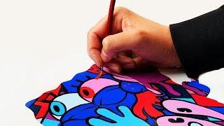 An Artist's Tribute to Spongebob Squarepants (Stephen Hillenburg)