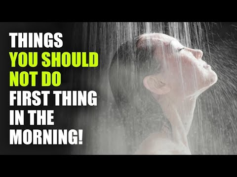 12 Things You Should Not Do In The Morning