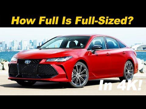 External Review Video EnW7r3PG1Ms for Toyota Avalon Sedan (5th gen XX50)