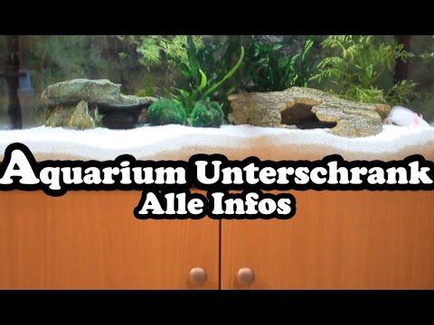 Aquarium Unterschrank (Technik, Filter und Zubehör)