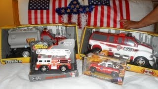 preview picture of video 'MY WALMART HOLIDAY TOY FIRE ENGINE HAUL'
