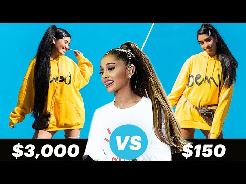 $3,000 Vs. $150 Ariana Grande Outfit