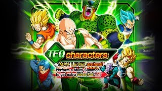 I NEED THAT TIEN IN MY LIFE! NEW *OpTiMaL* 40% TEQ Supports! Dragon Ball Z Dokkan Battle Summons!