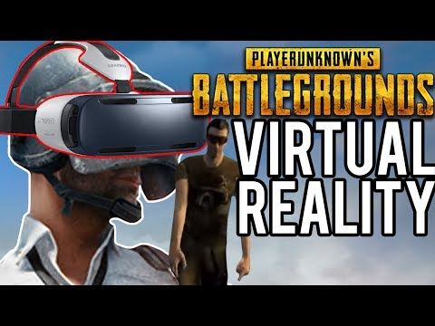 Battlegrounds Except It's Virtual Reality (PUBG)