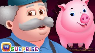 Learn Farm Animals and Colors For Kids with ChuChu TV Surprise Learning Eggs
