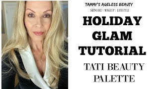 Glitter Holiday Look | TATI BEAUTY | Young and MATURE EYES