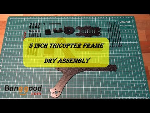 5 inch Tricopter from Banggood (Dry Assembly)