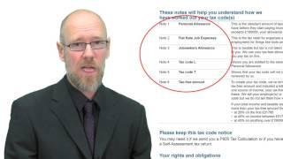 P2 Tax Notice