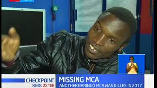 Baringo MCA Thomas Minito reportedly kidnapped