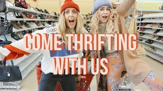 COME THRIFTING WITH US at SAVERS// FEATURING COURY COMBS