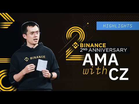 #Binance 2nd Anniversary AMA With CZ: Highlights