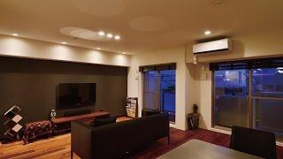 世田谷区/マンションスケルトンリフォーム、玄関収納と広々LDKの提案例