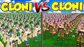 Roblox ITA - 10.000 Cloni di Stef Vs 10.000 Cloni di Phere