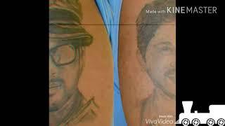 Allu Arjun Die Hard Fans Tattoo On Whole Body