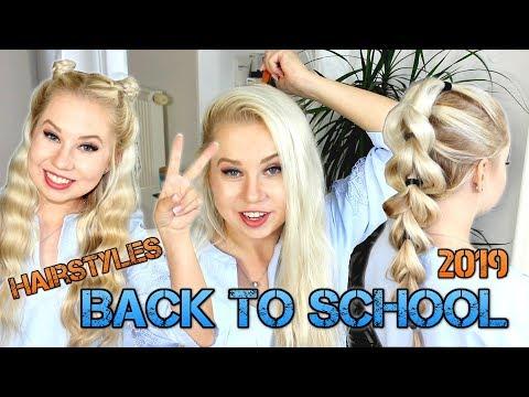 Účesy nejen BACK TO SCHOOL 2019