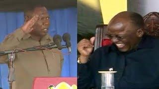 "MANENO YA AGREY MWANRI 'YAMKAUSHA MBAVU' MAGUFULI ""MAMBO NI BUM BUM"""