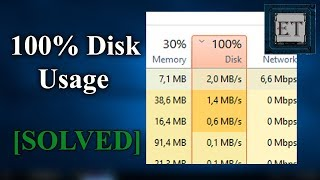 How To Fix 100% Disk Usage in Windows 10