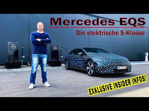 Mercedes EQS: Erste Fahrt vor Weltpremiere mit EUREN Fragen!
