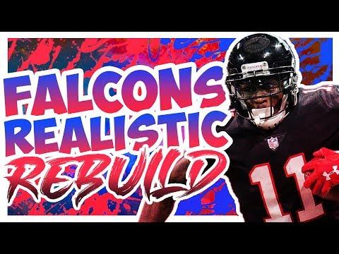 Rebuilding The Atlanta Falcons - Madden 20 Connected Franchise Realistic Rebuild