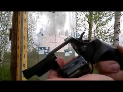 Револьвер Флобера Snipe - 3. Стрельба 10 и 20 м.