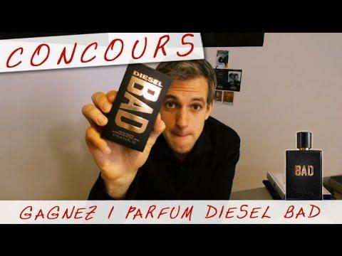 CONCOURS - Gagnez le dernier PARFUM DIESEL BAD - Vlog #12