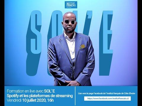 Masterclass en live avec Sol'e : Spotify et les plateformes de streaming