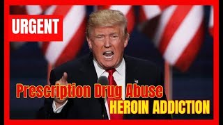 BREAKING 🔴 President Trump URGENT Speech at the RX Prescription Abuse and Overdose Summit