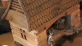 Los clientes tutorial: fresado belén de madera en sí