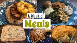 What's for Dinner?| Family Meal Ideas| July 30th- August 6th, 2018