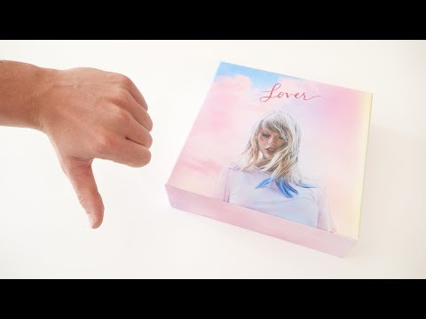 TAYLOR SWIFT - LOVER (LIMITED DELUXE CD BOXSET) UNBOXING