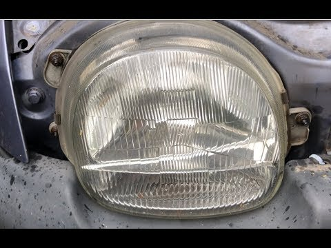 Renault Twingo 1,2 Bj-00 Scheinwerfer Reparieren/Repair headlight/ @TUTORIAL@