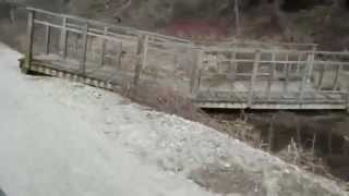preview picture of video 'Hanover Trail Bridge Wash Out - April 20, 2014'