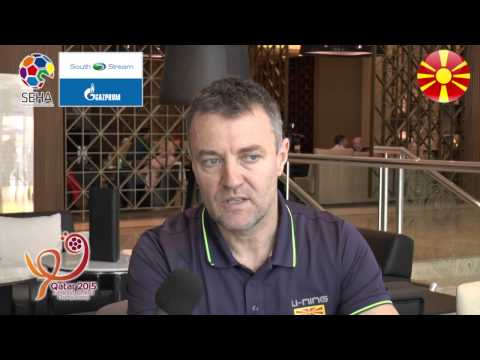 Qatar 2015 - Interview with Ivica Obrvan, Macedonia