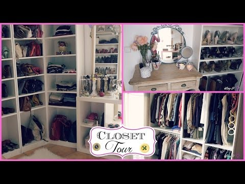 My CLOSET/ROOM Tour ♥ Tips organización y decoración!